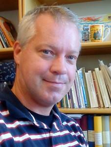 Martin Utvik på Riksarkivet